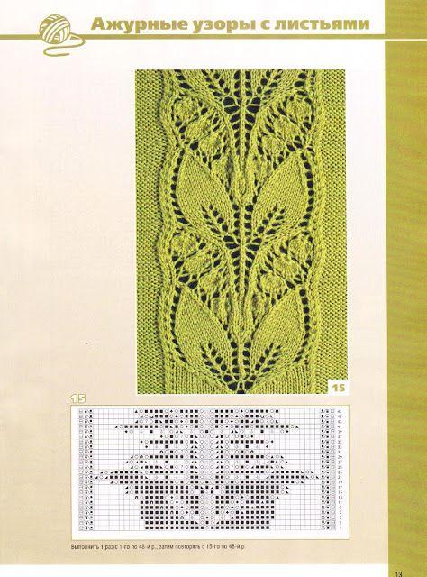 Kira knitting: Knitted pattern no. 71