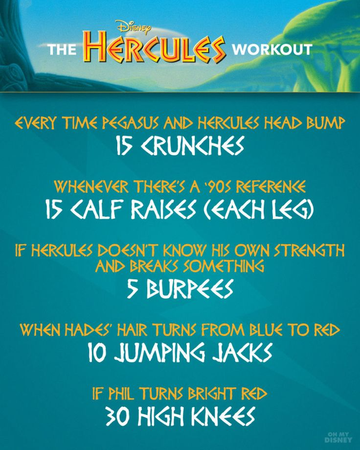 Ultimate Disney Movie Workout Guide
