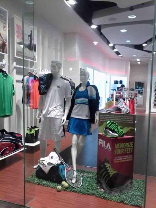 Available at FILA Bandung ( Paris Van Java, Istana Plaza, Cihampelas walk ) Jakarta ( Karawaci Supermall, Lotte Ciputra ) Surabaya ( Tunjungan Plaza ) Makasar ( Panakukang ) Medan ( Sun Plaza ) Banjarmasin ( Duta Mall ) ... *limited