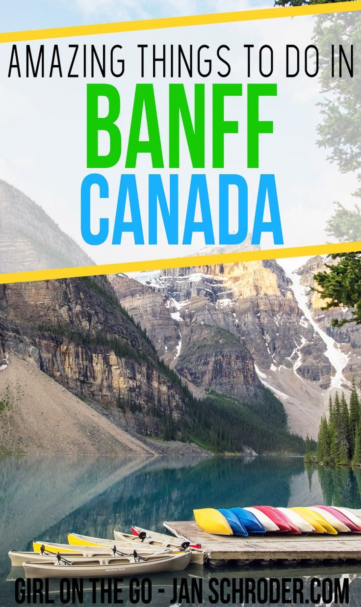 Banff is an unmissable destination in Canada. It has stunning mountain and lake scenery that is perfect in any season. #travel #travelblogger #traveller #traveltips #adventure #backpacking #destination #canada #backpack