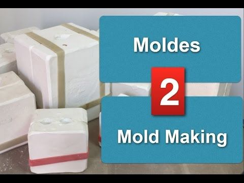 Episodio 2 - Moldes de gesso * Plaster Mold Making (with English Subtitle) - YouTube