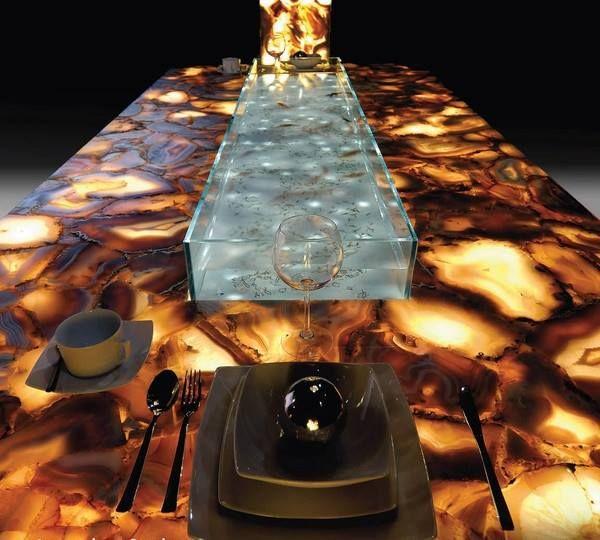 Mit Caesarstone Können Sie Ihren Esstisch Zum Leuchten Bringen. Http://www.