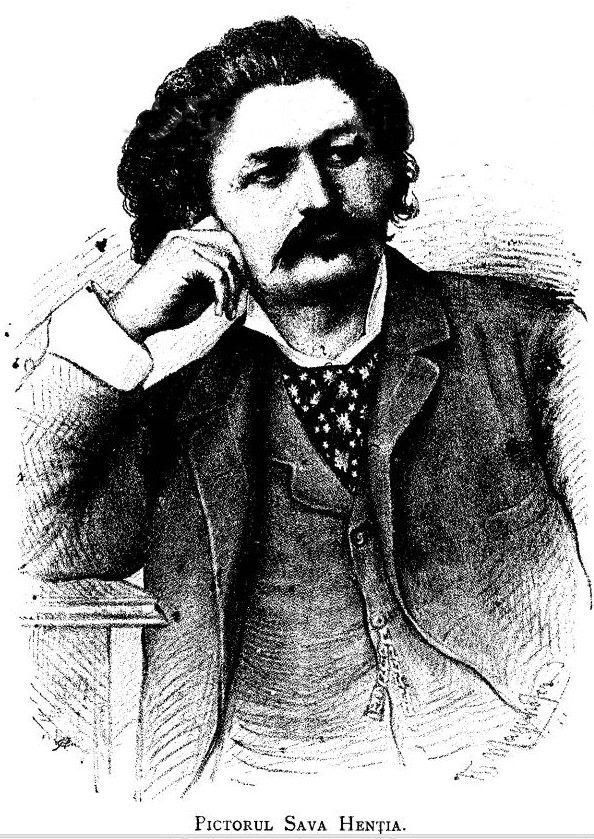 Pictorul Sava Hentia