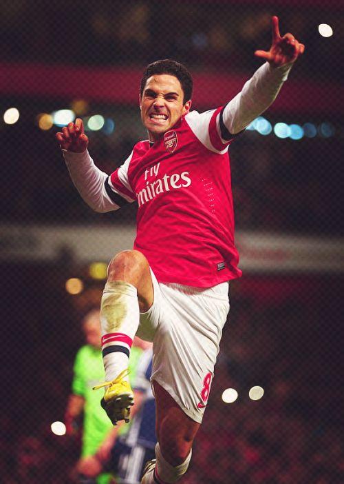 Mikel Arteta, Arsenal FC. Midfield Maestro