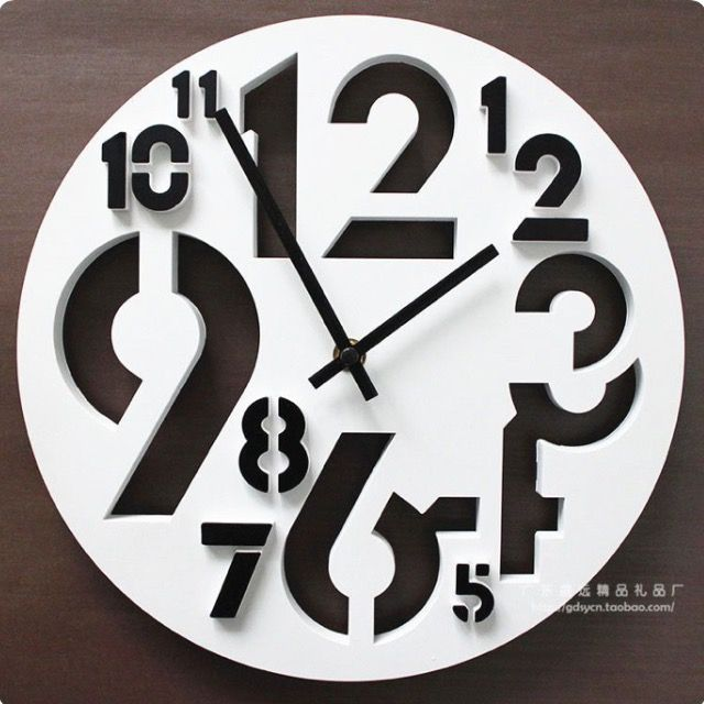 Saat clock kıl testere scroll saw