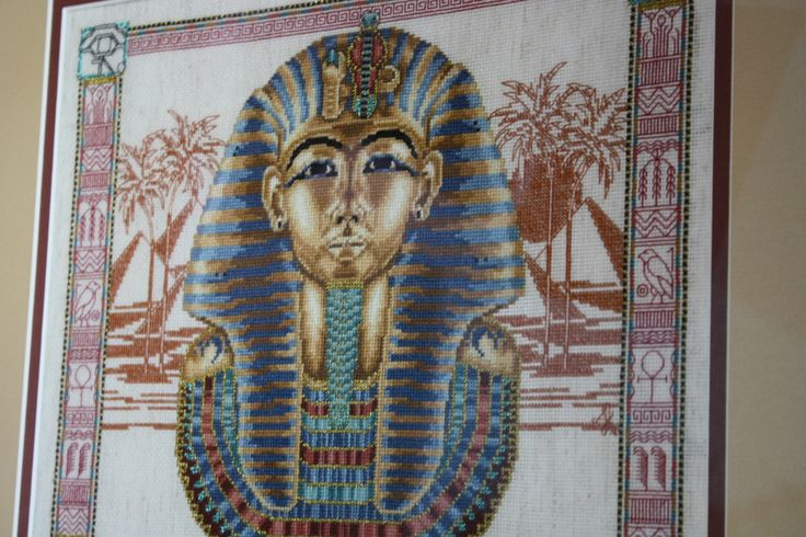king tut my favorite  It was done with special gold thread