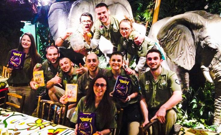 The winners of our 2015 egg hunt! http://www.therainforestcafe.co.uk/jobs/