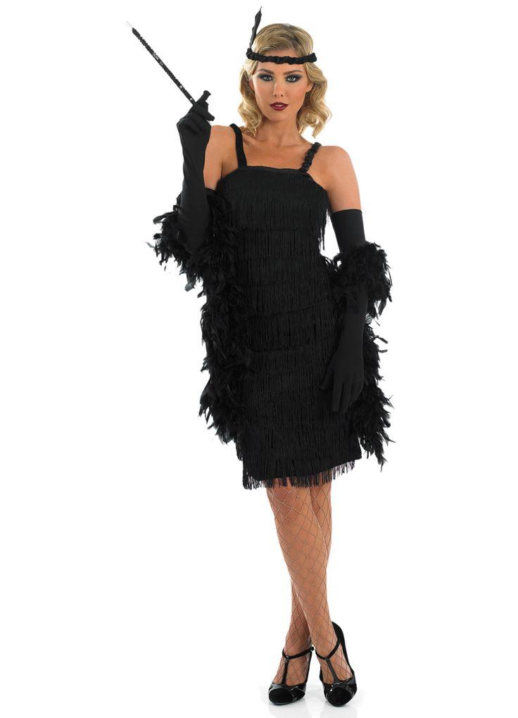 Black dresses for women in 20s