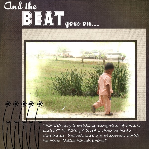 And the Beat Goes On - Scrapbook.com