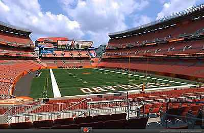Holidays And Events: 2 Jacksonville Jaguars @ Cleveland Browns Tickets * Lower Level * Stock# 145/30 BUY IT NOW ONLY: $249.99