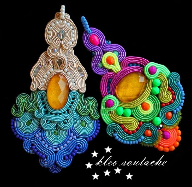 Sutasz Kleo /Soutache jewellery: MONITTA- WISIORKI