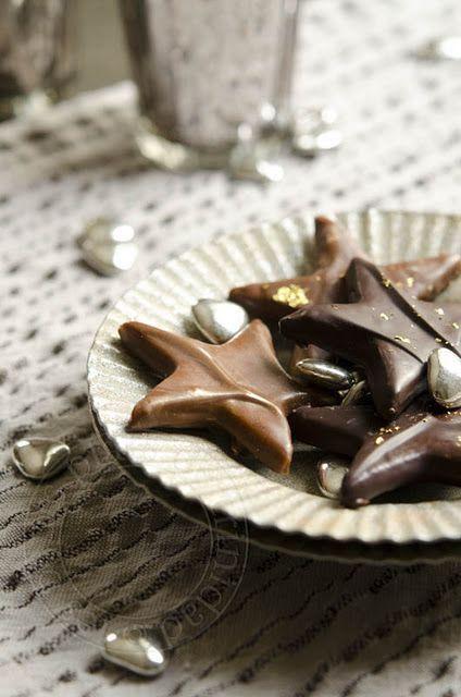 Etoiles de noël sablées au chocolat