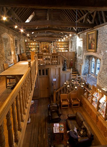 Winchester College, Brewery library.