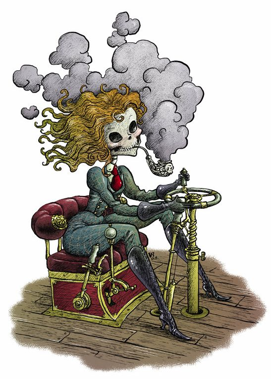 Ilustración: Escarlatina by Victor Rivas