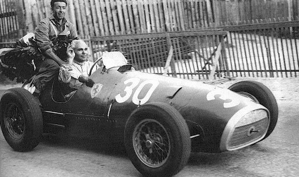 1952 GP Suiza - Piero Taruffi (Ferrari 500) 1st