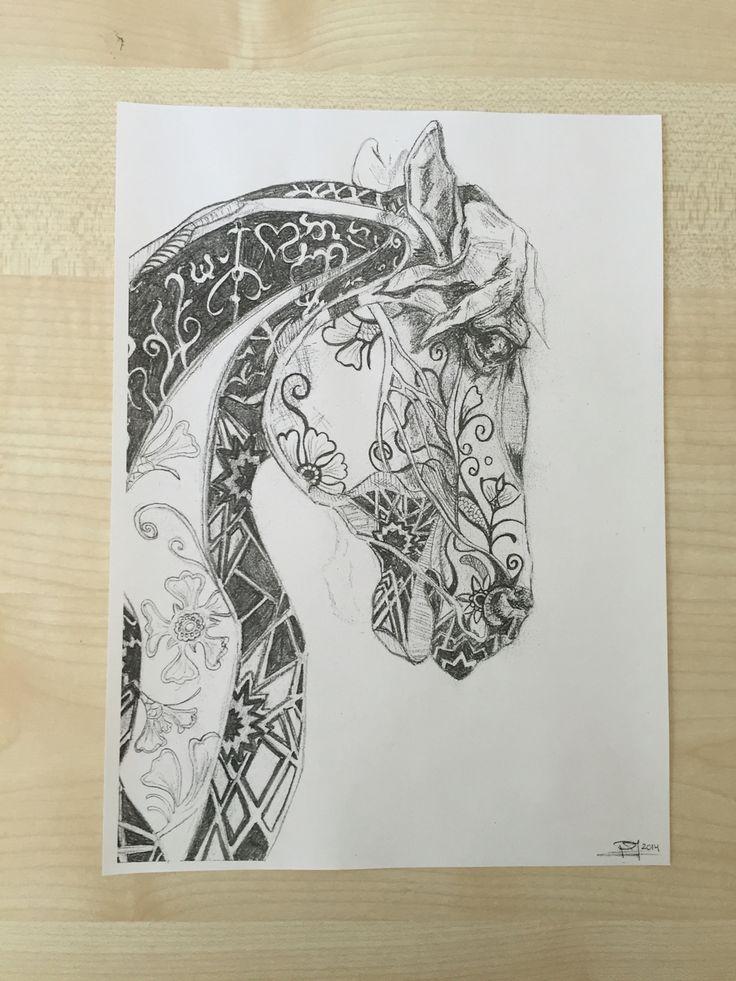 Doodle Hest