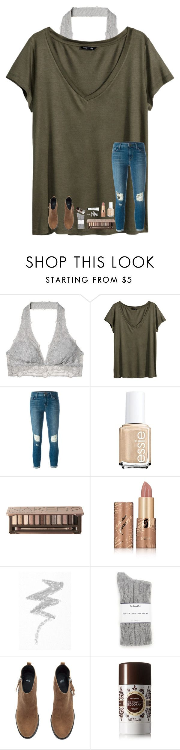 """Thanksgiving Break in 2 days!!! Cali here i come!!!"" by kat-attack ❤ liked on Polyvore featuring Victoria's Secret, H&M, J Brand, Essie, Urban Decay, tarte, NYX, Splendid, Lavanila and Bobbi Brown Cosmetics"