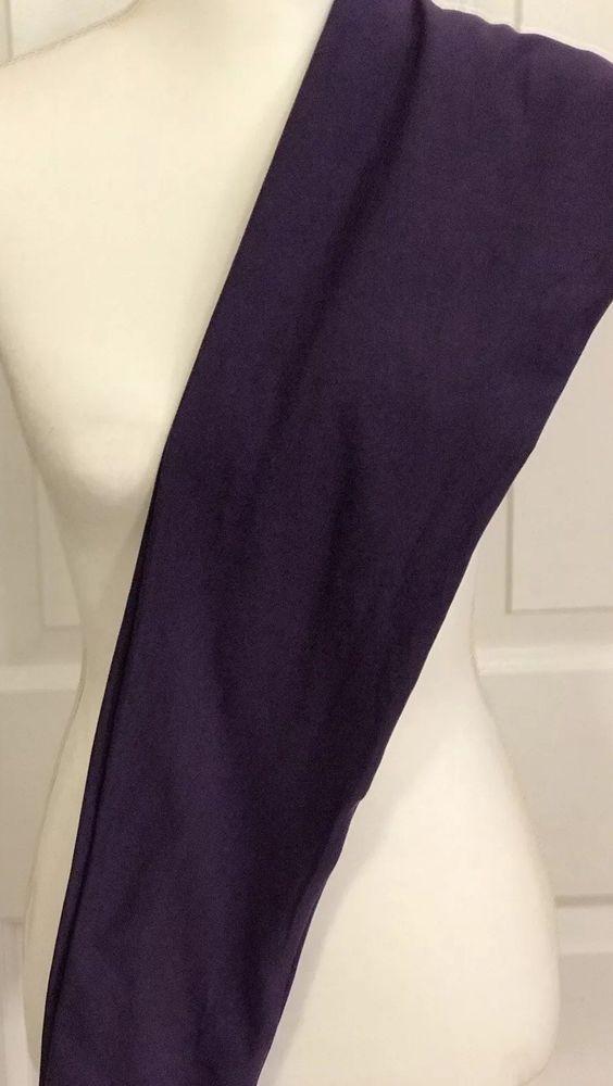 26cd4654368745 LuLaRoe Leggings OS Solid Color Dark Purple Eggplant One Size LLR Pants EUC  | eBay