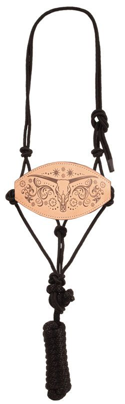 Mustang Ride Strong Bronc Nose Rope Halter More