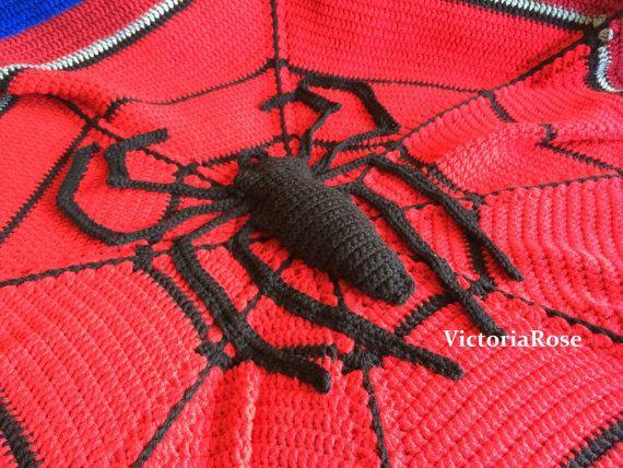 Crochet Pattern For Spiderman Blanket Pakbit For