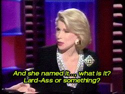 Joan Rivers on Lourdes (Madonna's daughter) name #Joan_Rivers #Joan_Rivers_Jokes #Joan_Rivers_Quotes
