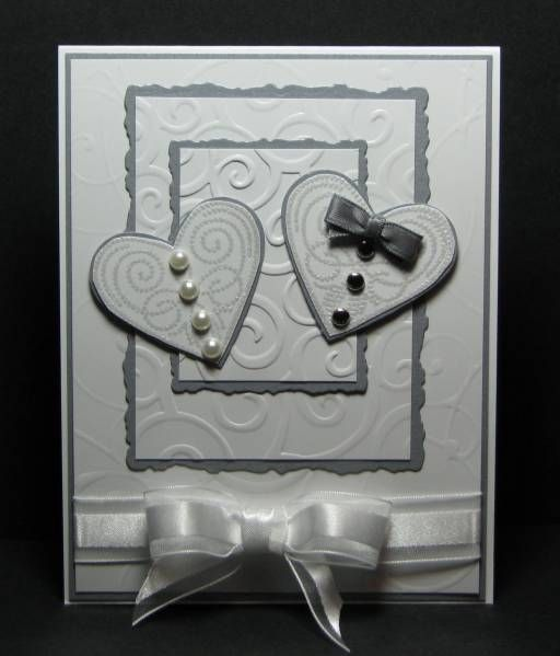 Card. two hearts