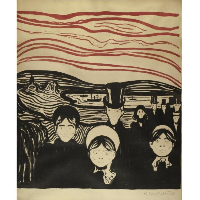 By Edvard MunchEdvard Munch Angst, Onde Vou, Pra Onde, Vou Influence, Graphics Design, Cellars Doors, Wild Ducks, Onde Vim, Art Blah