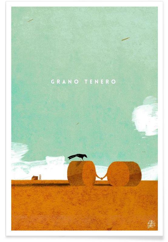 Grano tenero als Premium Poster von Riccardo Guasco | JUNIQE