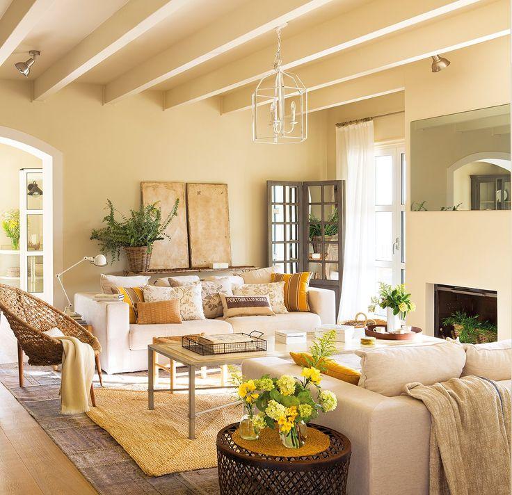 Decoración De Una Masía En Begur, En El Alt Empord  · Living RoomsLiving  Room IdeasFamily ...