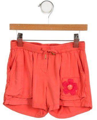 Little Marc Jacobs Girls' Embellished Shorts
