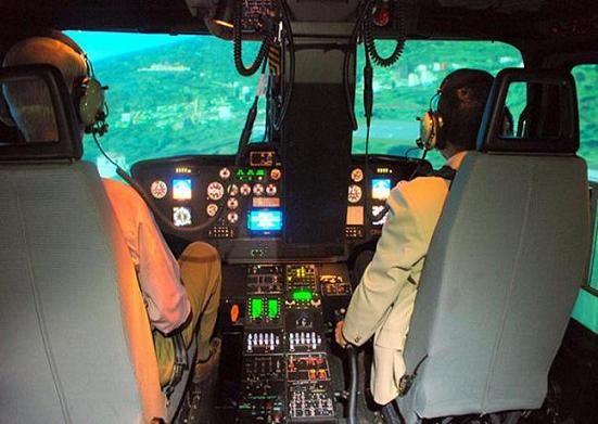 ALH HAL Dhruv Helicopter Hatsoff simulator
