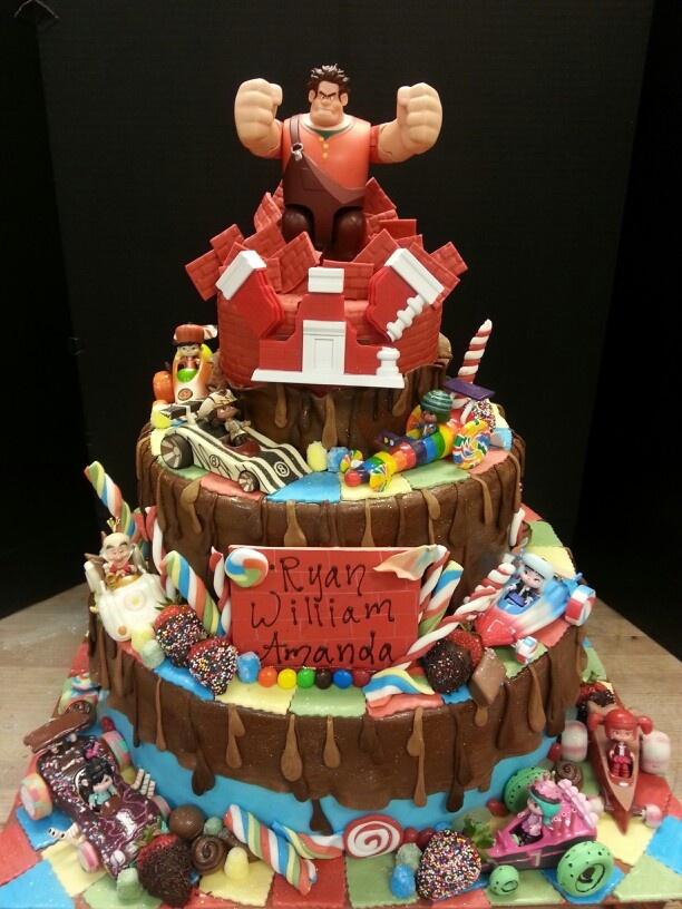 Holy Crap Look At This Cake Wreck It Ralph Cake Sugar