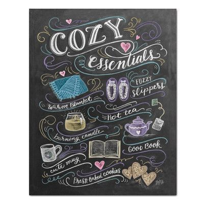 Cozy Essentials - Print #Gifts #home #Print