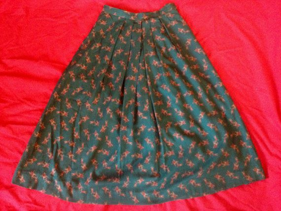 Vintage Skirt by RetroRedheadCo on Etsy