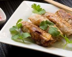 Nems chinois porc-crevette - Une recette CuisineAZ