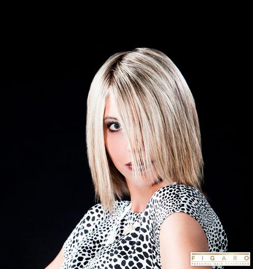 TAGS : bles / blond / bob / carré / dames / dameskapsels / figaro / glenn engels / halflang / platina /