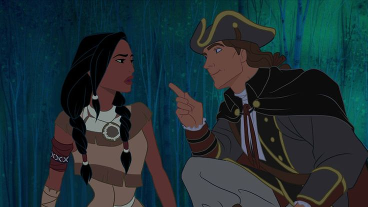 Pocahontas in the Assassin's Creed universe. Truth be told, the outfits are more historically accurate in this picture than in the movie.