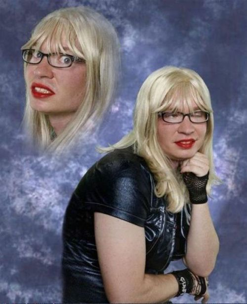 Bad Glamor Shots school pictures yearbool Bad Family Photos Funny Family Pics Awkward Family Photos crazy weird bad tattoos worst tattoos stupid people Family Party ideas strange ugly