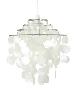 small capiz chandelier for my bathroom