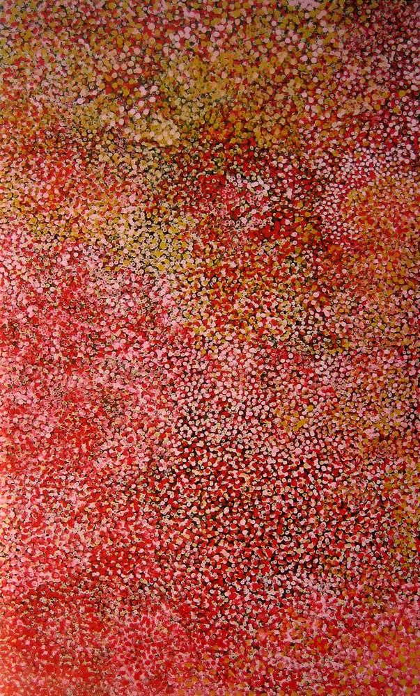 'Muna, Everything' - by Emily Kame Kngwarreye