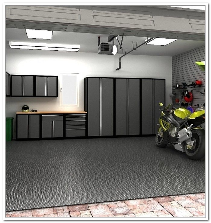 7 Great Garage Flooring Ideas From The Most Popular Garages Garasi