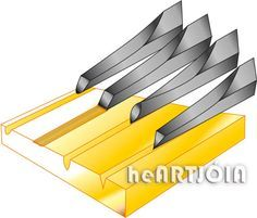 Chisel, chisels for recording