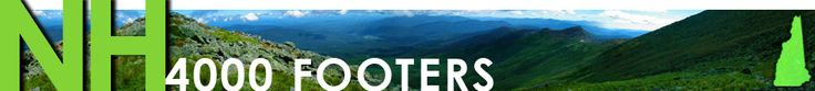 NH 4,000 Footers New Hampshire- tells you which peaks to bag together