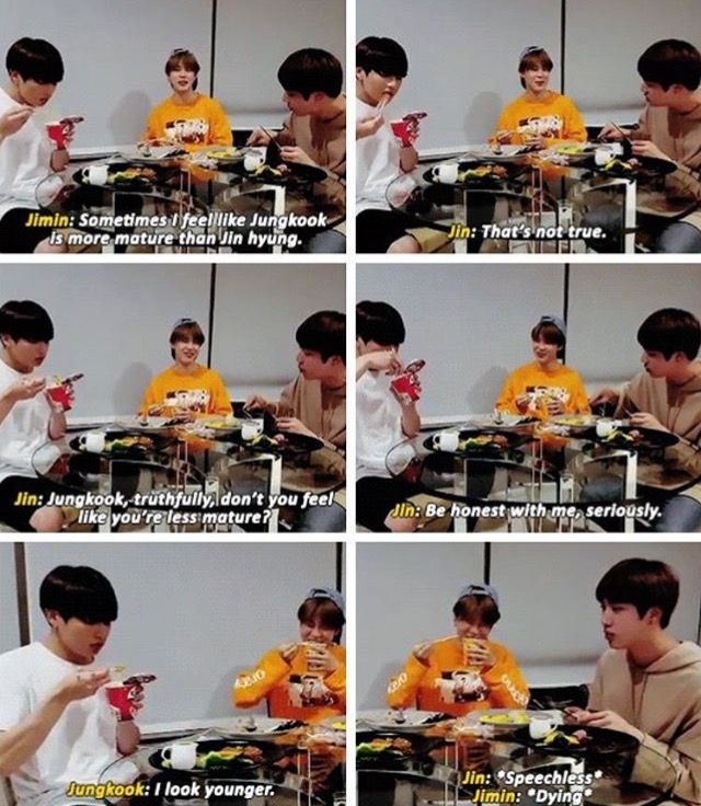 savage Kookie~ He is learning from his hyungs and especially from Min Yoongi aka Suga aka AgustD xD