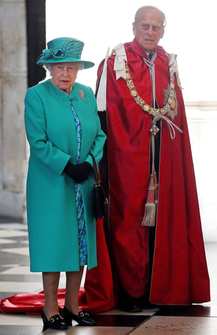 Queen Elizabeth and Prince Philip Visit St. Paul's Cathedral After Manchester Bombing