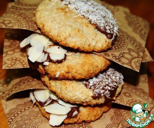 Миндально-кокосовое печенье - кулинарный рецепт