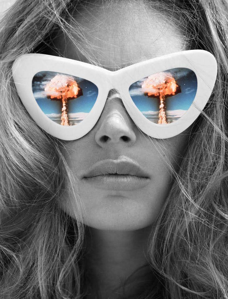 Vision, Annette von Stahl collage.