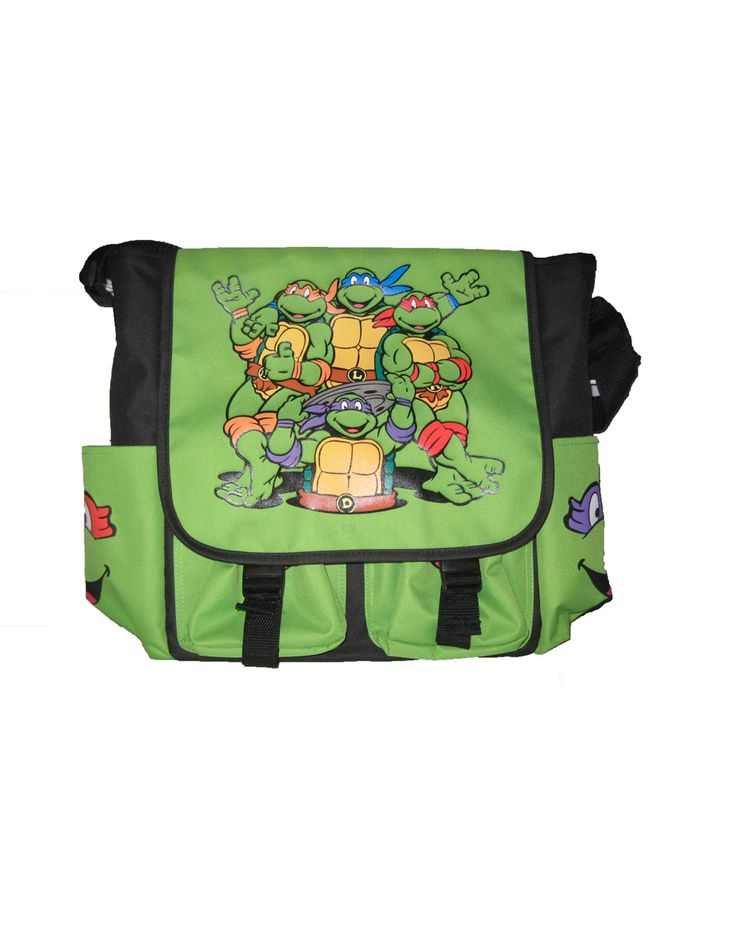 tmnt green diaper bag cute cute baby stuff pinterest tmnt diaper bags and diapers. Black Bedroom Furniture Sets. Home Design Ideas
