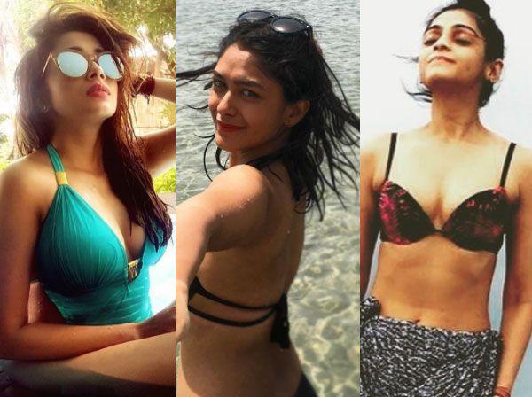 Kumkum Bhagya's Mrunal Thakur, Uttaran's Tina Datta, Pehredaar Piya Ki's Tejasswi Prakash – check out these TV bahus in bikinis #FansnStars