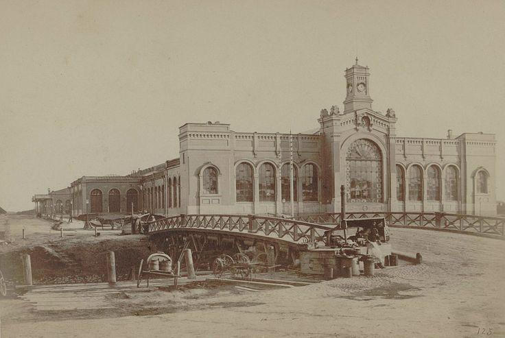 Варшавский вокзал.  1860-1869 гг.
